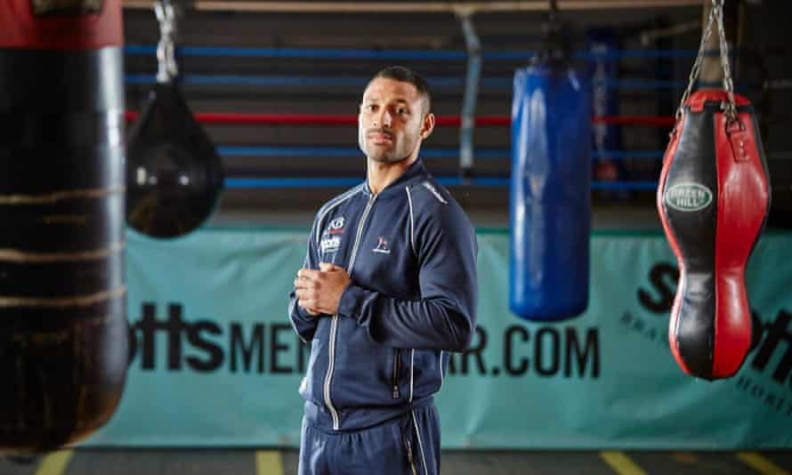 Kell Brook, who has a 35-0 record, fights the Canadian Kevin Bizier on Saturday in Sheffield but says: 'I want [Amir] Khan.'