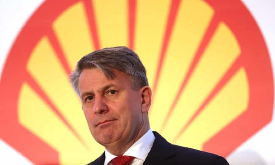 Shell chief executive Ben van Beurden