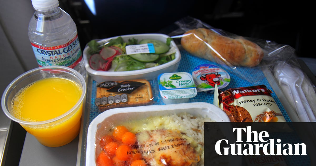 The Ridiculous Story Of Airline Food And Why So Much Ends Up In