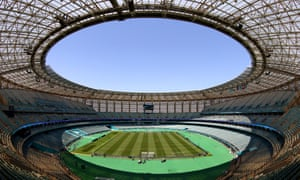 All eyes on the Olympic Stadium in Baku.