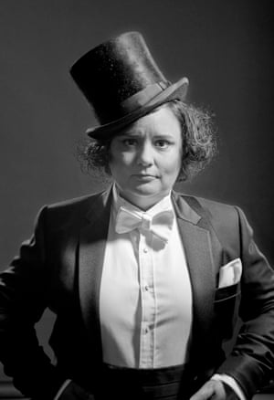 Comedian Susan Calman as Marlene Dietrich