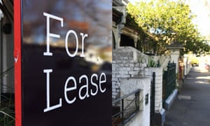 For lease sign at front of house