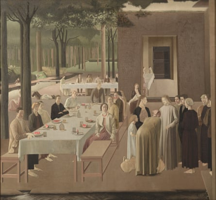 The Marriage at Cana, 1923, by Winifred Knight