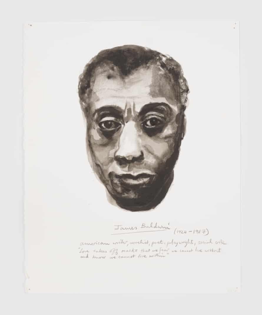 James Baldwin, 2014 from the series Great Men.