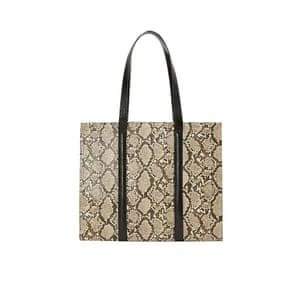 Snakeprint bag, £59.99, mango.com