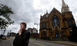 """Father Michael Stumpf has found it """"deeply painful"""" to be confronted by angry and suspicious parishioners. But it was also appropriate, he said."""