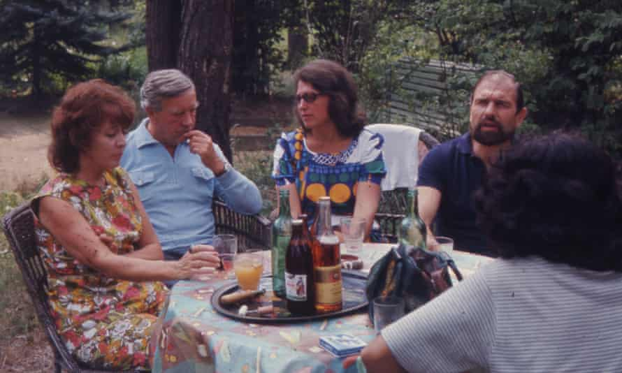 Blake, Philby and their respective wives in 1975