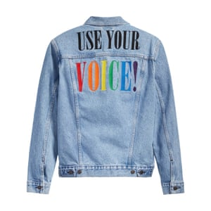 All of the proceeds from Levi's Pride collection will go to OutRight Action International, an organisation that elevates the stories of those who have been marginalized, and strives to ensure that everyone everywhere has the right to be proud, free, and visible, no matter who they are or who they love. Denim jacket, £110, levi.com