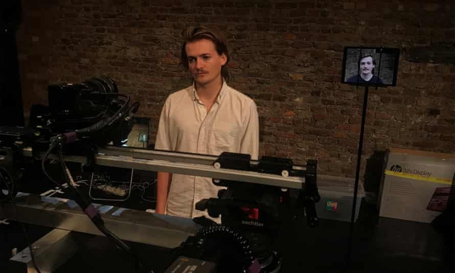 The human condition … Jack Gleeson in To Be a Machine (Version 1.0).