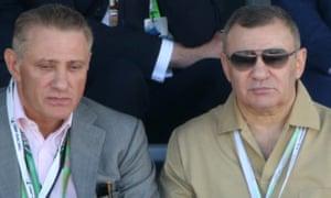 Arkady and Boris Rotenberg.