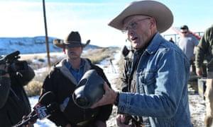 LaVoy Finicum Oregon militia standoff Malheur national wildlife refuge