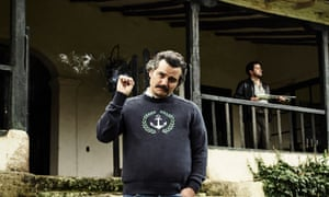 Wagner Moura as Escobar in The Life Of Pablo