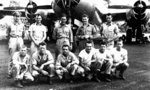 B-29 crew that were used for live vivisection experiments.
