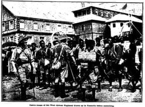 Troops of West African Regiment