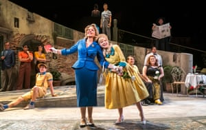 'It's terrifying' … Renée Fleming and Dove Cameron in The Light in the Piazza.