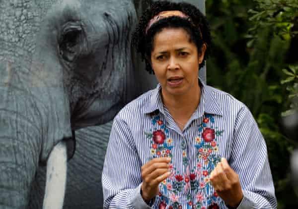 Paula Kahumbu, chief executive officer of Wildlife Direct.