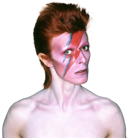 The print is from a colour transparency image that became one of the world's most recognisable album covers. Photograph: Duffy Archive & The David Bowie Archive
