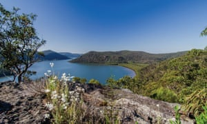 Views of the Hawkesbury river from Marramarra national park.