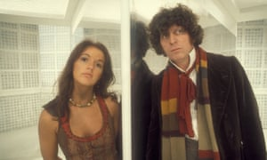 'Something for the dads …' Tom Baker as the Doctor with Louise Jameson as Leela.
