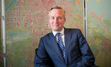 Amsterdam's deputy mayor for healthcare, Eric van der Burg.