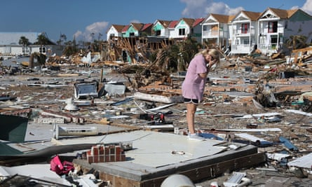 Hurricane Michael hit the Florida Panhandle as a category 4 storm causing massive damage. Mexico Beach was devastated by the storm.
