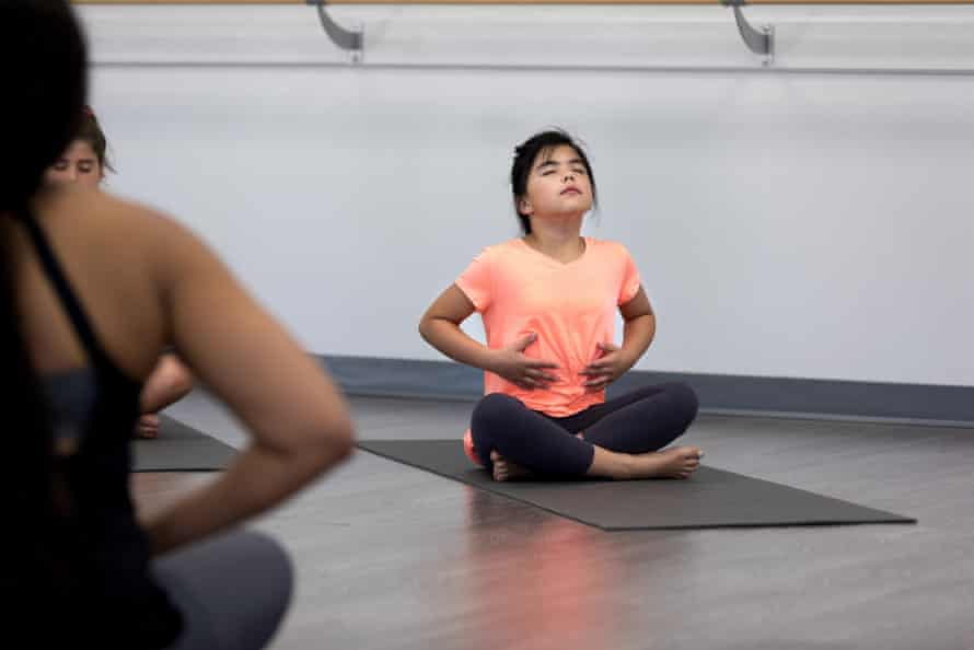 Teaching children breathing exercises helps them to improve concentration and reduce stress and anxiety.