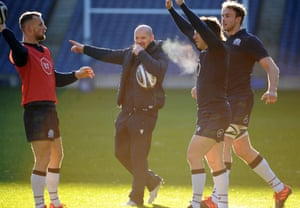 Gregor Townsend at Murrayfield on Friday.