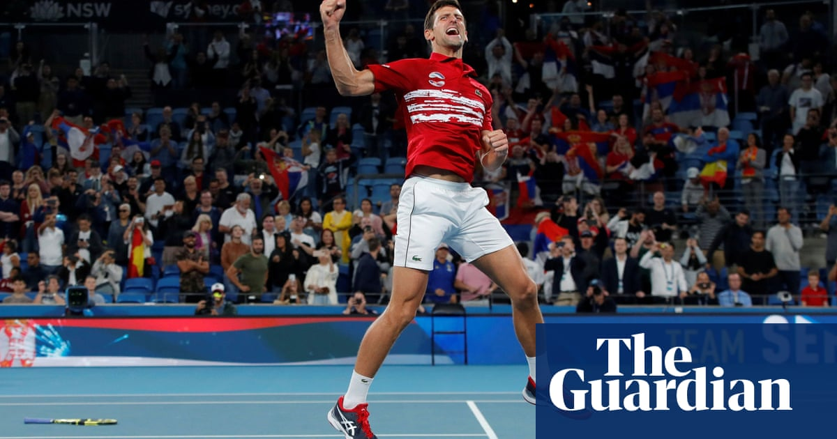 Novak Djokovic leads Serbia to victory over Spain in ATP Cup – video