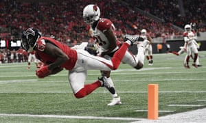 Matt Ryan linked up with Julio Jones for one of his two touchdown passes on Sunday