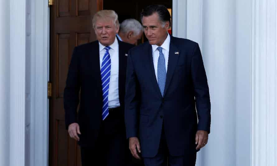 Mitt Romney said Trump's comments after violence in Charlottesville had caused 'the vast heart of America to mourn'.