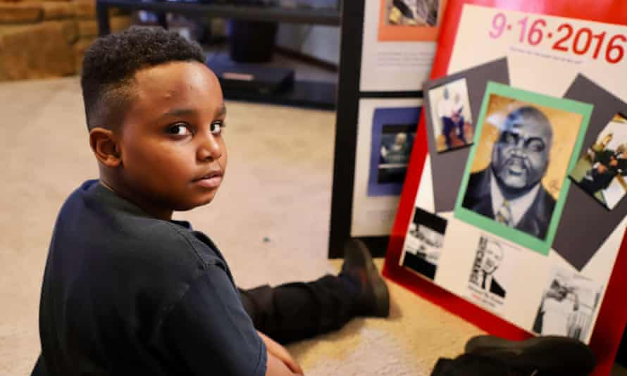 Terence Jr, son of Terence Crutcher.