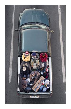 Car Poolers.