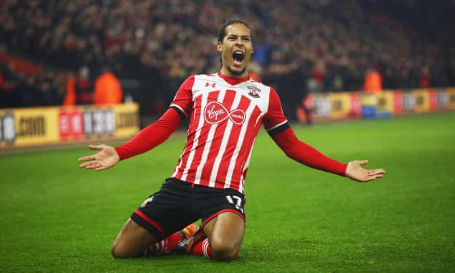 Southampton defender Virgil van Dijk is a target for Manchester City.