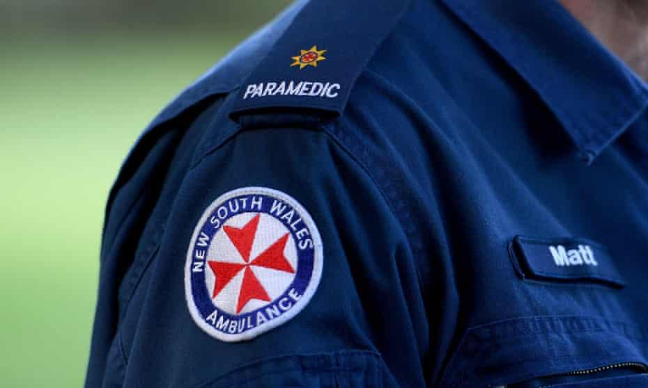 A NSW Ambulance service patch