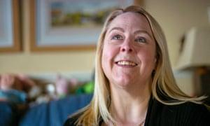 Cancer patient Sandra Sayce