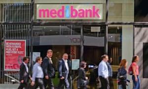 A Medibank office