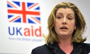 International development secretary Penny Mordaunt says aid will not be given to countries which 'should be putting their hands into their own pockets'.
