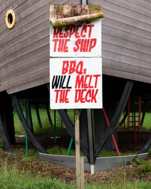 The Cadmus ship in the Greenpeace field