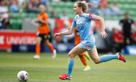 Rhali Dobson of Melbourne City