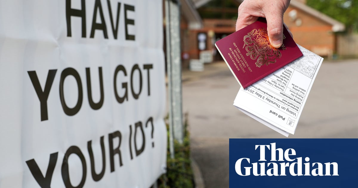 Tories 'trying to rig elections' with compulsory voter ID