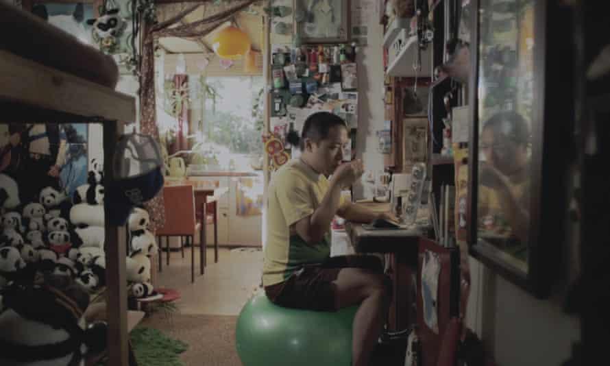 Teik Kim Pok as Alvin in Alvin's Harmonious World of Opposites.