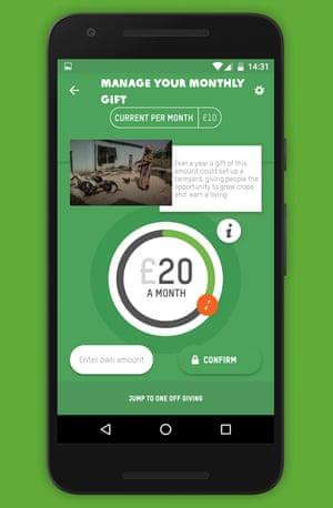 MyOxfam app