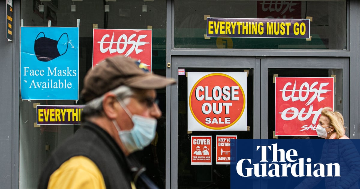 'Tsunami of closures' threaten UK high streets as debt grows fivefold