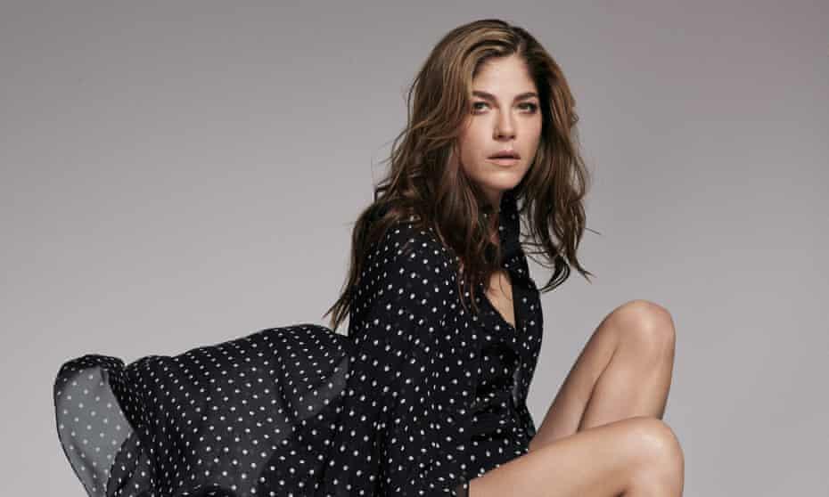 Selma Blair wears Christian Dior.