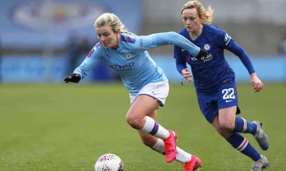 Manchester City Women taking on Chelsea in February