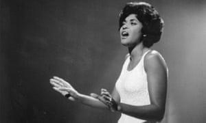 Jazz singer Nancy Wilson.