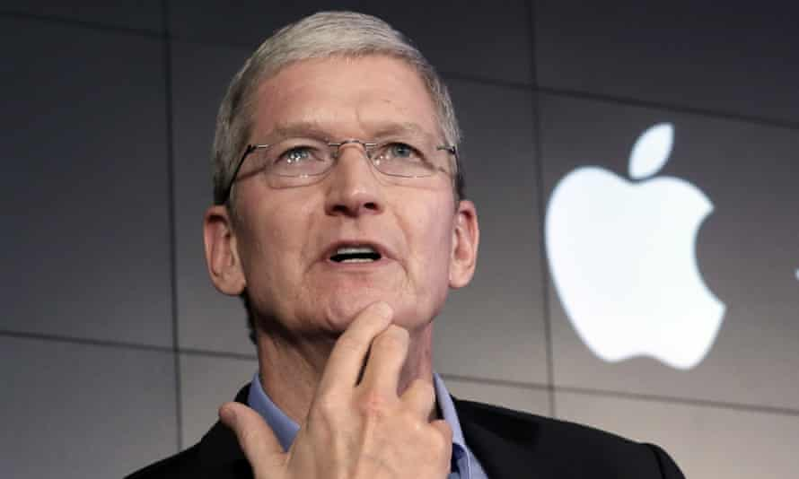 Apple CEO Tim Cook has spoken about the company's tax avoidance.