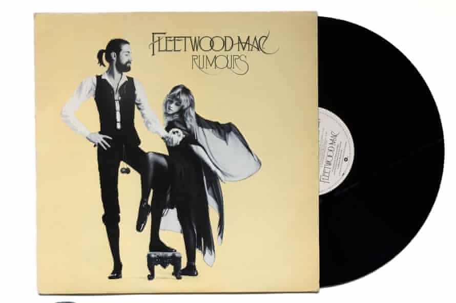Fleetwood Mac Rumours album cover