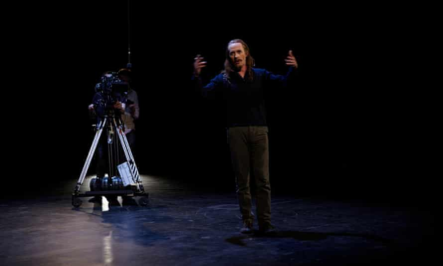 Stephen Dillane in Tacita Dean's Event for a Stage.
