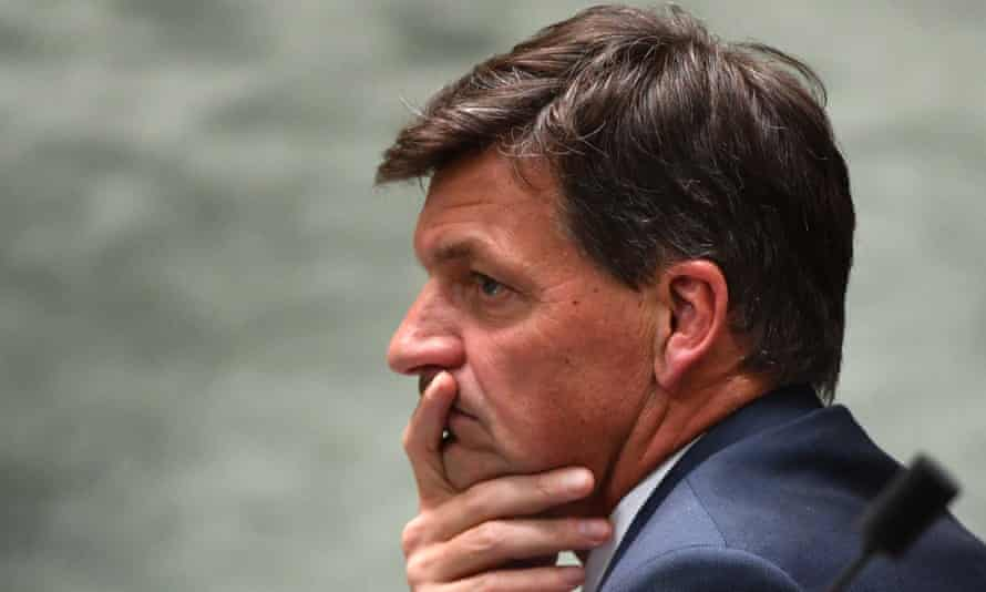 Angus Taylor at question time